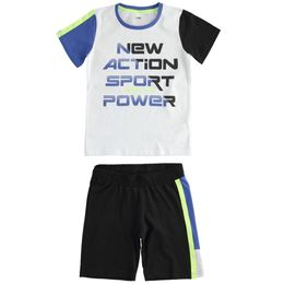 """""""Special Olympics"""" 100% cotton T-shirt and short trousers outfit"""