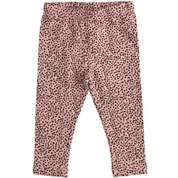 Leggings in jersey stretch con stampa all over