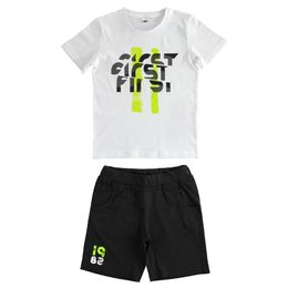 Jersey outfit with T-shirt and trousers for boy