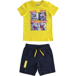 Very nice outfit with T-shirt and short trousers 100% cotton