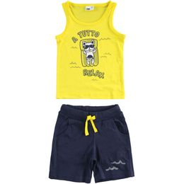 Outfit 100% cotton tank top and short trousers