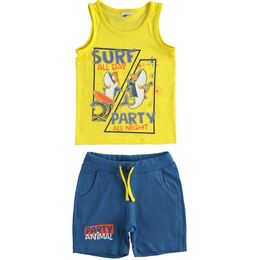 """Outfit 100% cotton """"Surf Party"""" tank top and short trousers"""