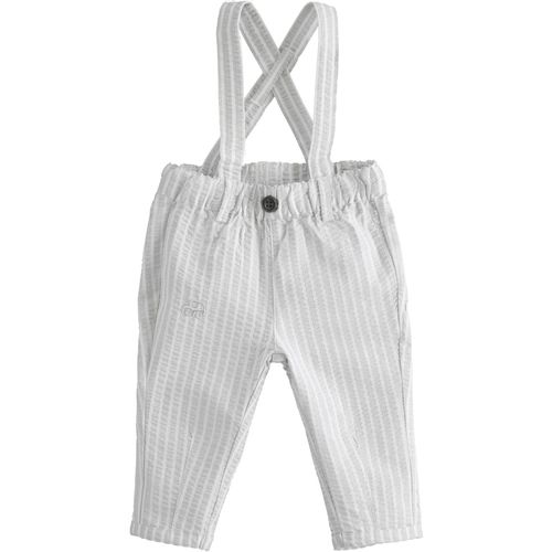 Trousers with suspenders 100% cotton