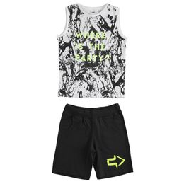 100% cotton tank top and shorts outfit