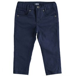 Stretch twill five-pocket trousers