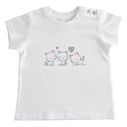100% cotton T-shirt with sweet print