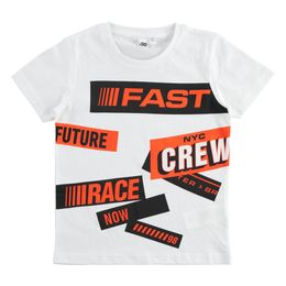 Gritty and sporty 100% cotton T-shirt