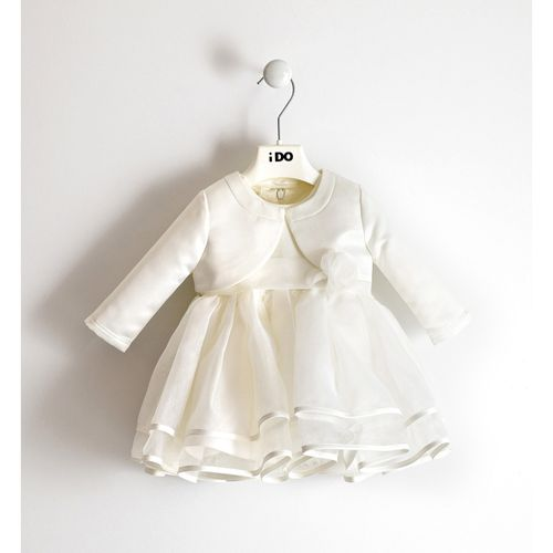 Elegant outfit dress and jacket for baby girl
