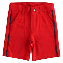 Short trousers in stretch jersey