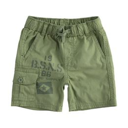 100% cotton poplin short trousers with print
