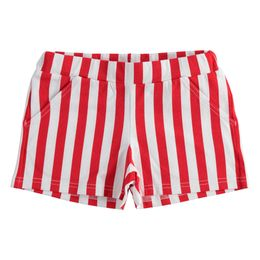 Stretch jersey shorts with various patterns for girl