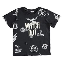 """100% jersey T-shirt with """"Watch out"""" lettering"""