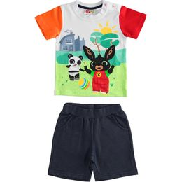 Bing and Pando T-shirt and shorts outfit for boy