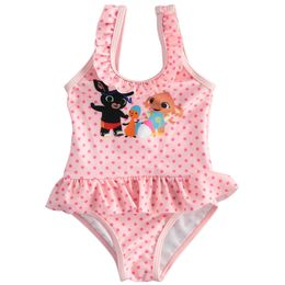 One-piece swimsuit with Bing, Sula and Flop
