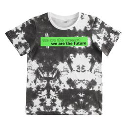 100% cotton T-shirt with fluo print