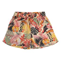Graceful shorts 100% viscose with floral pattern