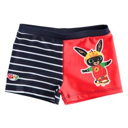 Boxer style swimsuit with Bing
