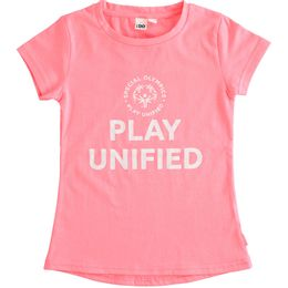 """Fluo T-shirt """"Play Unified - Special Olympics"""" for girl"""