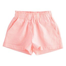 Fluo striped shorts