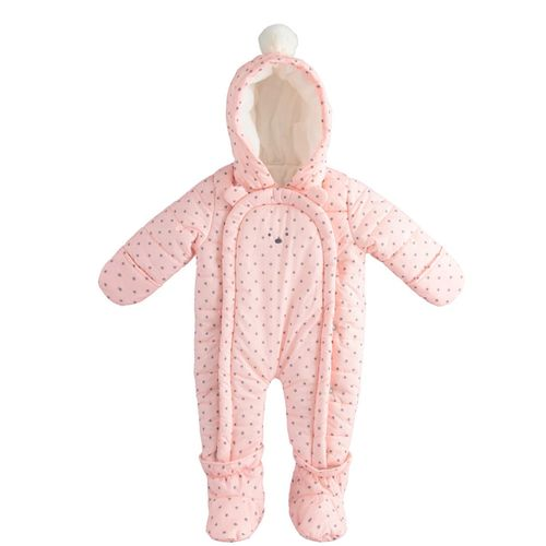 Warm thermal baby jumpsuit