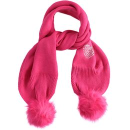 Tricot scarf with bobble