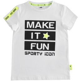 """T-shirt in jersey stretch """"Fit Icon"""""""